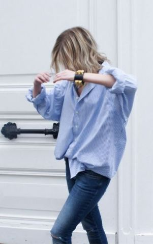 oversized shirt outfit